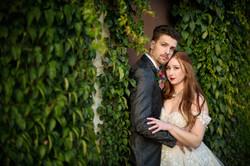 Dark Fantasy Dreamy Couple Ivy Wall