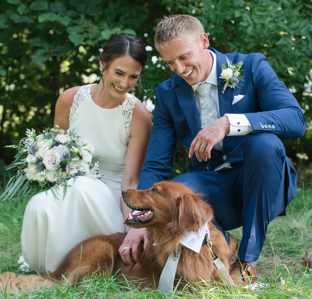 Dakota's Wedding Pawrents