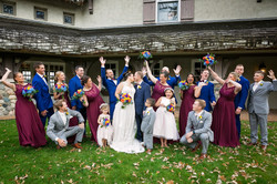 Fall Feel Wedding Party - Elegance