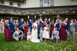 Fall Feel Wedding Party - Elegance