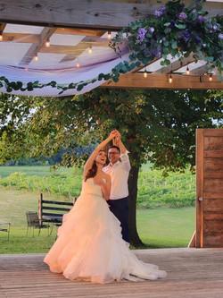 First Dance in the Vineyard