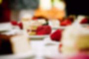 Rebanadas de pastel de queso