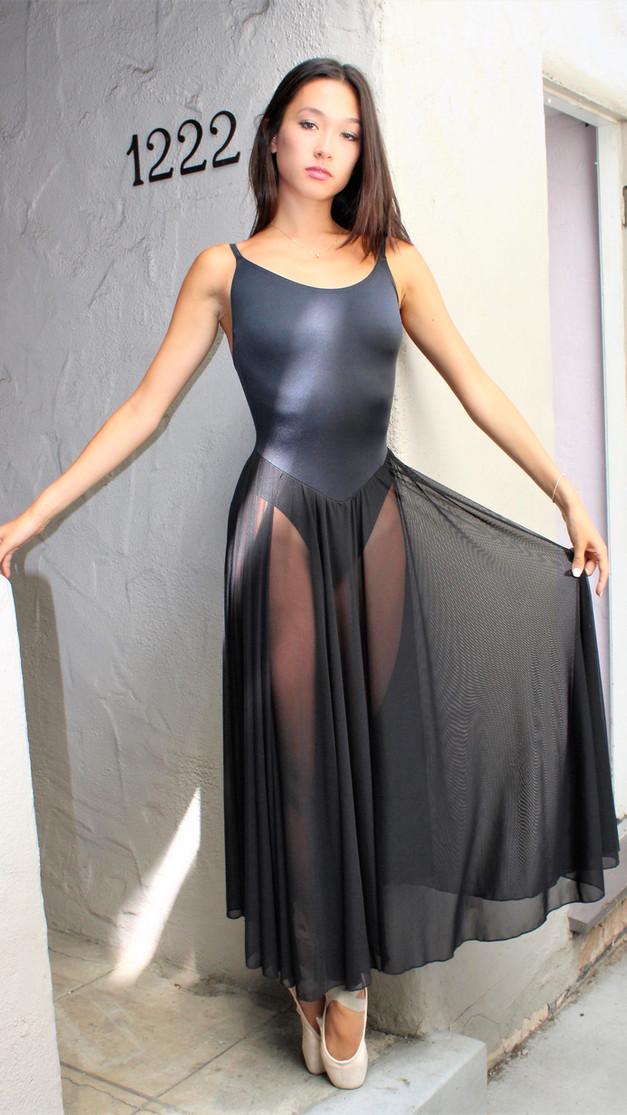 Marilyn Leotard with Mesh Skirt