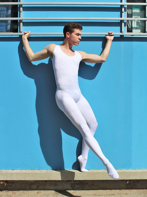 No Front & Side Seam Footed Unitard #1600