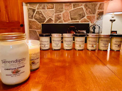 soy locally made candles