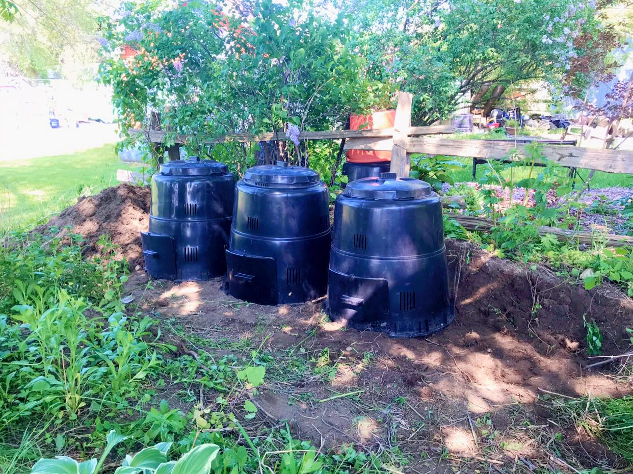 donated composters