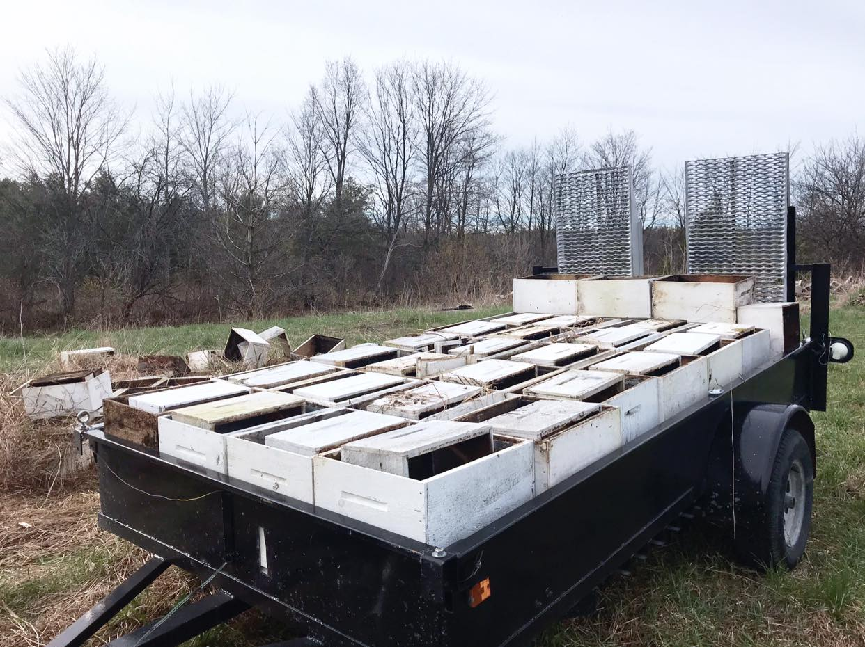 2021 bee box project - 80 bee supers don