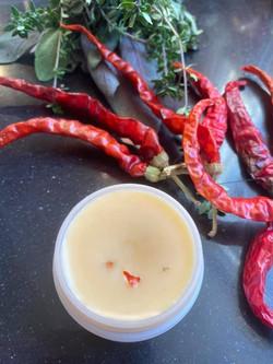 Organic Cayenne ginger Arthritis Balm we make