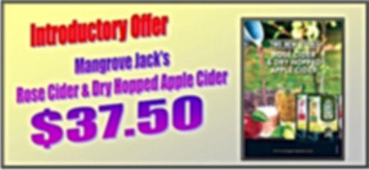 rose & dry hopped cider