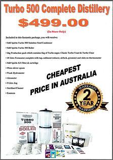 cheapest turbo 500 still