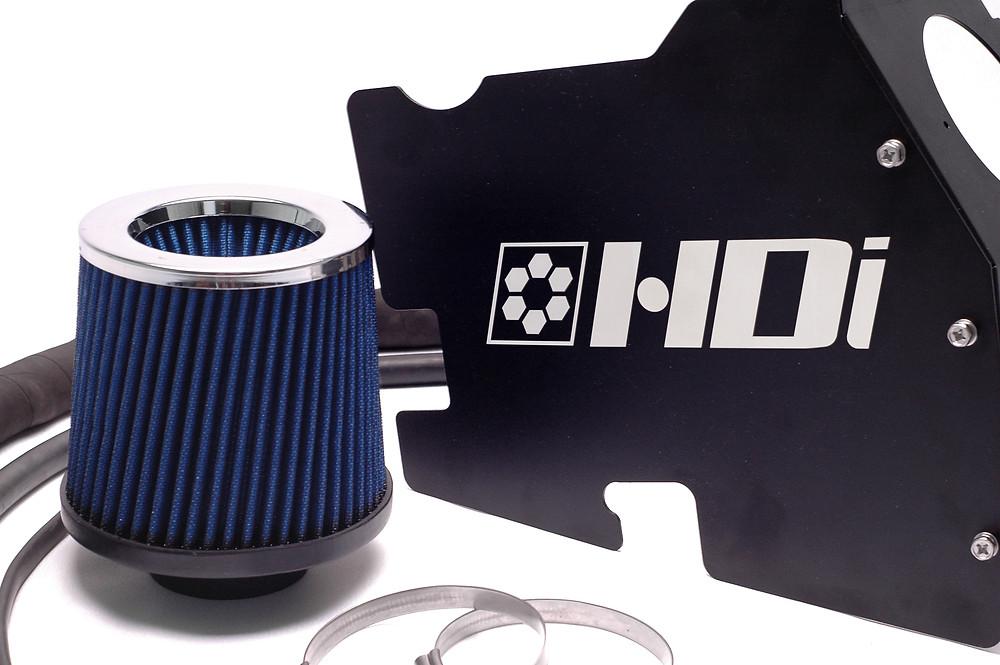 Dual inlet High quality high flow air filter increase air speed while maximizing air volume !