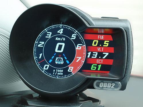 Car OBD2 smart digital gauge