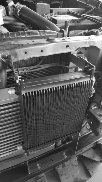 HDi Ford Ranger px1,2,3 & Mazda BT-50 Intercooler kit &ATF cooler kit-11