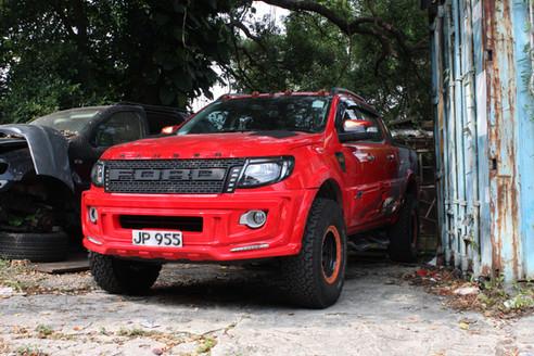 HDi Ford Ranger px1,2,3 & Mazda BT-50 Intercooler kit &ATF cooler kit-17
