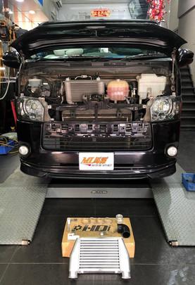 HDi GT2 intercooler kit for Toyota Hiace 200 1kd/2kd-07