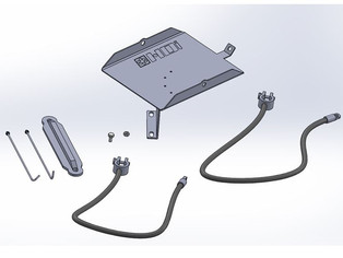 New HDi FG XR6 Battery Relocation Kit