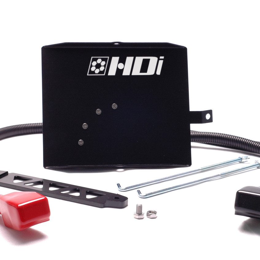 Ford FG battery relocation kit