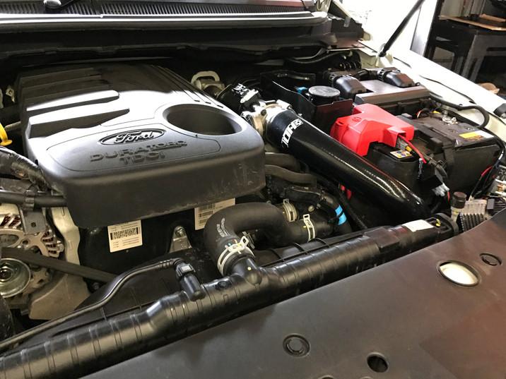 HDi Ford Ranger px1,2,3 & Mazda BT-50 Intercooler kit &ATF cooler kit-14
