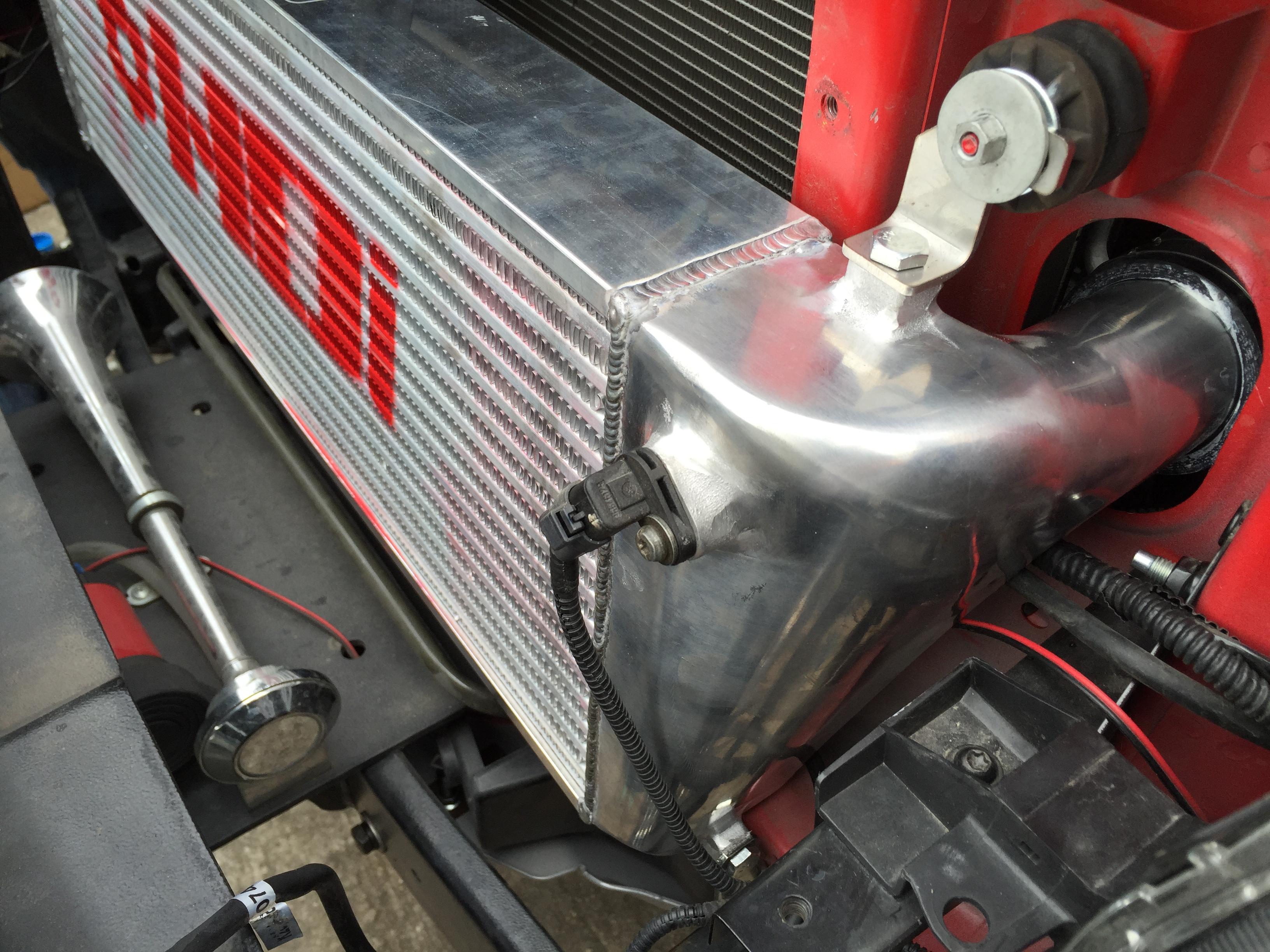 HDi Ford Ranger intercooler kit -00