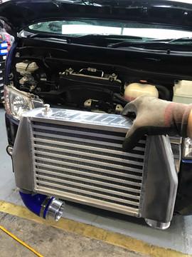 HDi GT2 intercooler kit for Toyota Hiace 200 1kd/2kd-03
