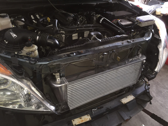 HDi Ford Ranger px1,2,3 & Mazda BT-50 Intercooler kit -13