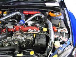 HDi Subaru wrx GRF intercooler kit-3