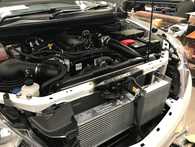 HDi Ford Ranger px1,2,3 & Mazda BT-50 Intercooler kit &ATF cooler kit-12