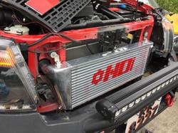 HDi Ford Ranger intercooler kit ins