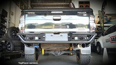 Ford Ranger PPK Style Rear Bar RAG-009