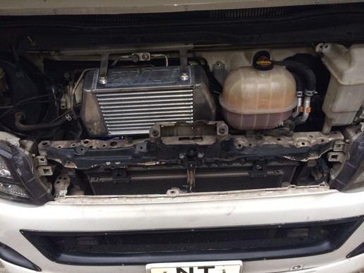 HDi GT2 intercooler kit for Toyota Hiace 200 1kd/2kd-11