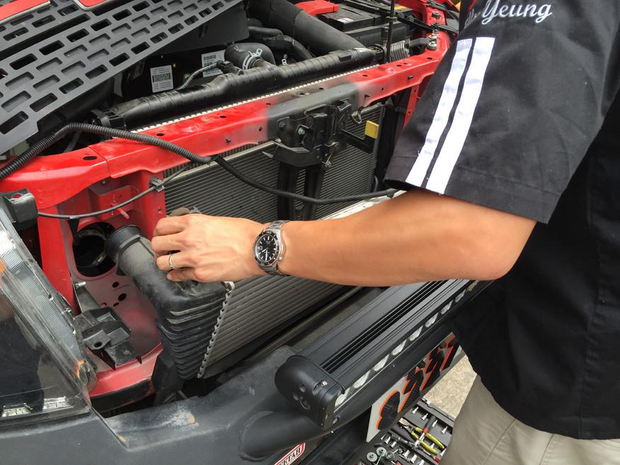 HDi Ford Ranger px1,2,3 & Mazda BT-50 Intercooler kit-04