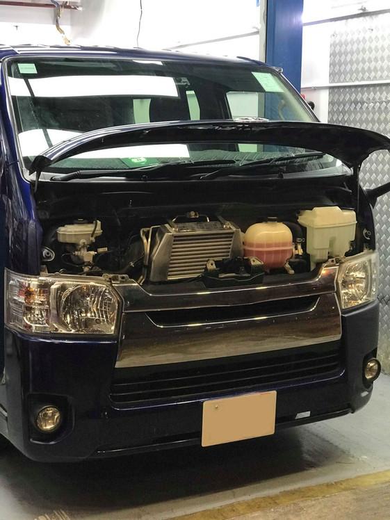 HDi GT2 intercooler kit for Toyota Hiace 200 1kd/2kd-02