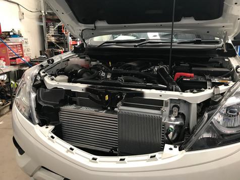 HDi Ford Ranger px1,2,3 & Mazda BT-50 Intercooler kit &ATF cooler kit-09