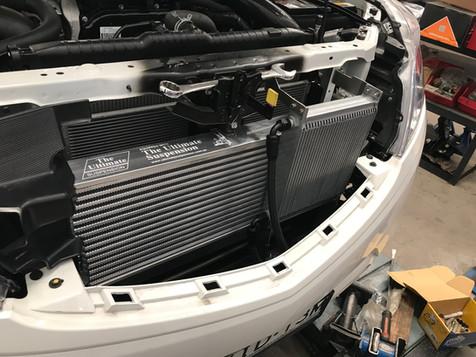 HDi Ford Ranger px1,2,3 & Mazda BT-50 Intercooler kit &ATF cooler kit-08