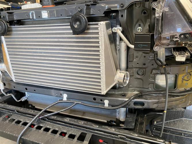 HDi Hilux intercooler kit