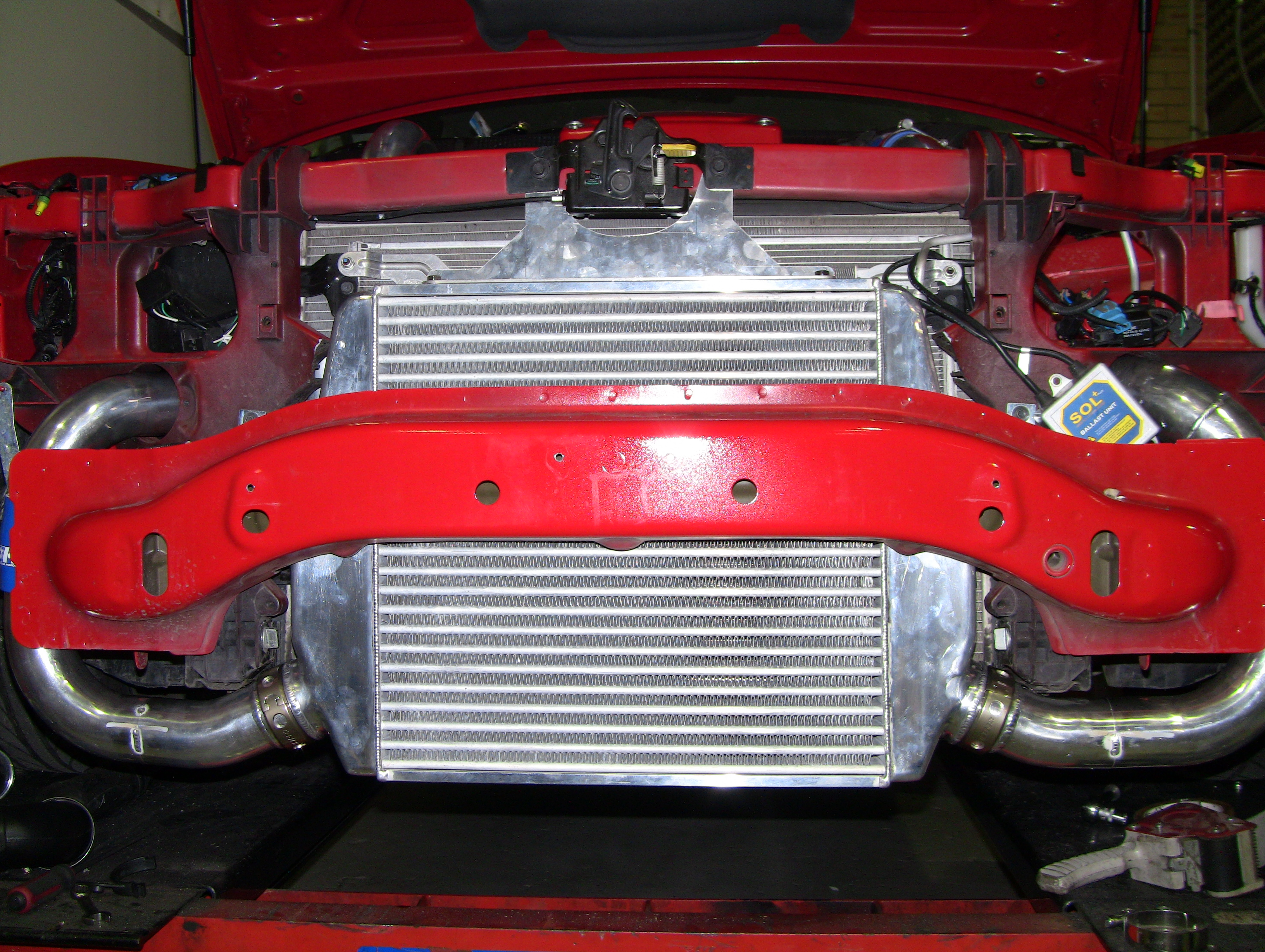 Hdi ford fg xr6  intercooler kit-03