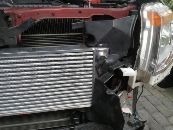 HDi Ford Ranger px1,2,3 & Mazda BT-50 Intercooler kit &ATF cooler kit-18