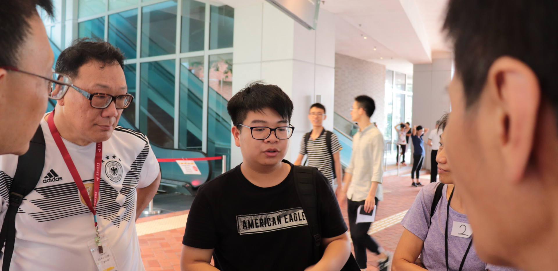 """[Legal talk and HKU tour] """"Outreach Legal Talks Initiative"""" (HKU OUTLET)'s second and finallegal talk formembers from Hong Kong Sheng Kung Hui Welfare Council and HKU guided tours with """"Senior Champions"""" before talk(July 20th, 2019)"""
