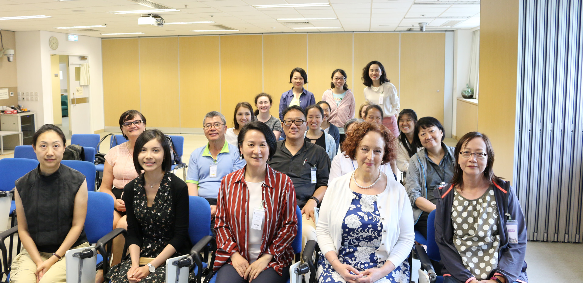 """[Knowledge exchange] """"Senior Champions"""" exchanging ideas with Dr Sarah Hope Kagan and her students from School of Nursing, University of Pennsylvania(May 15th, 2019)"""