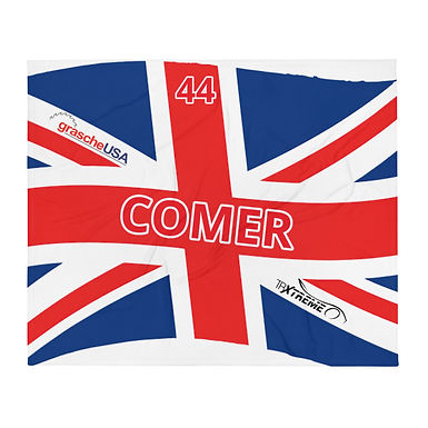 Comer's Custom Throw Blanket
