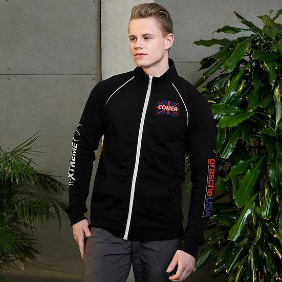 Driver Series - Comer's Custom Piped Fleece Jacket