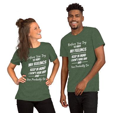Feelings Short-Sleeve Unisex T-Shirt