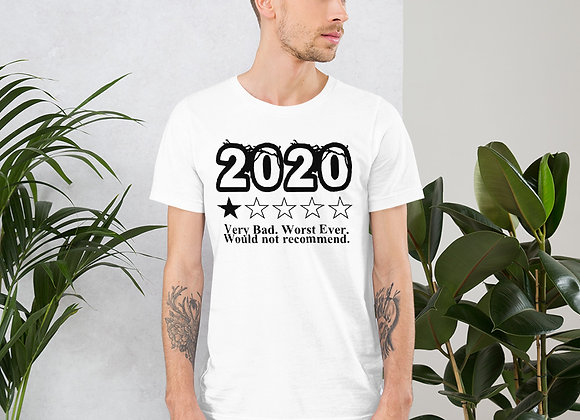 """Late Model Mafia - """"2020 Would not recommend"""" - Short-Sleeve Unisex T-Shirt"""