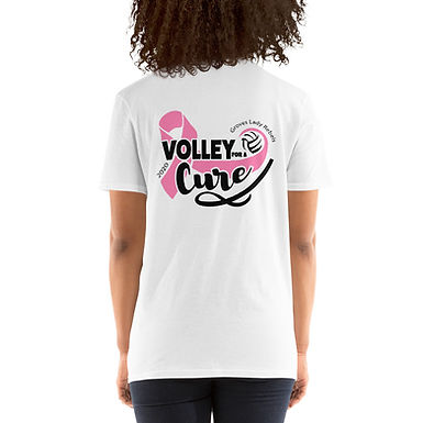 Lady Rebels - Volley for a Cure - Short-Sleeve Unisex T-Shirt