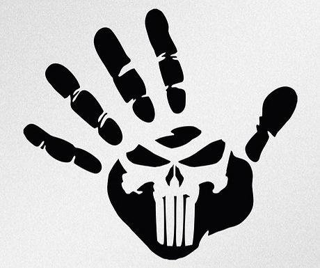 Punisher Skull in Hand
