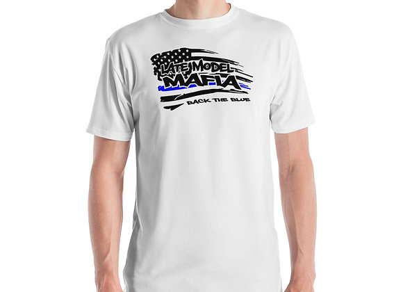 #BACKTHEBLUE - 45 - Late Model Mafia Men's T-shirt