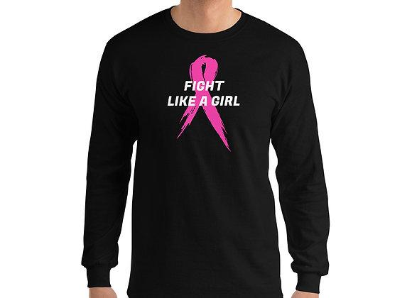 Fight Like a Girl - Men's Long Sleeve Shirt