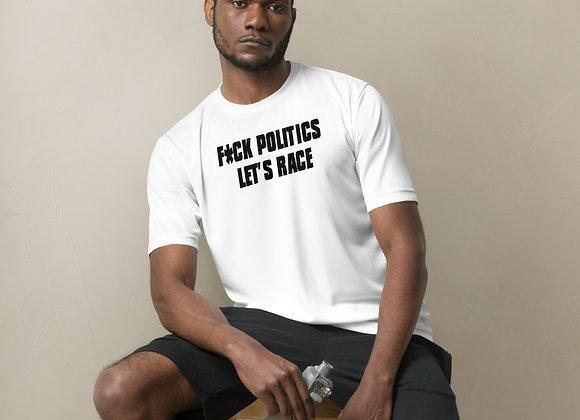 "Late Model Mafia ""F*ck Politics, Let's Race"" -  White Sports Jersey"