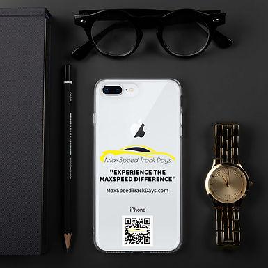 MaxSpeed Track Days iPhone Case