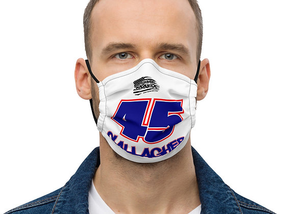45 - Late Model Mafia - Gallagher - Premium Face Mask